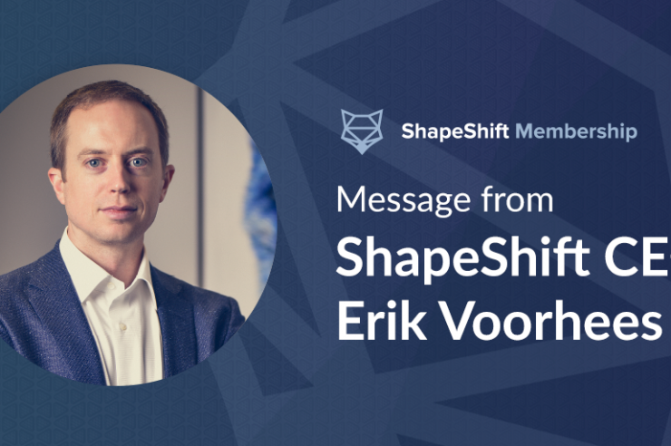 Shapeshift.io membership
